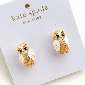 🛍 KATE SPADE STAR OWL EARRINGS